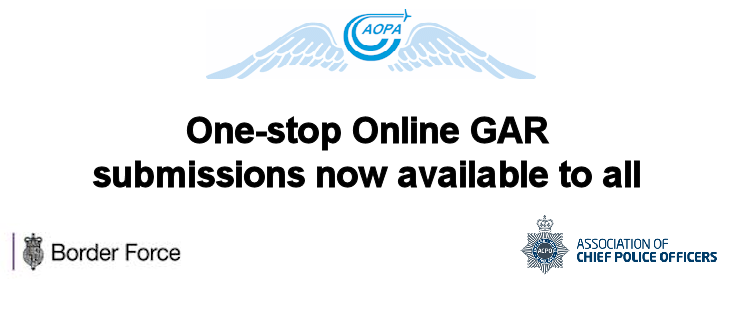 Submit your GAR via AOPA